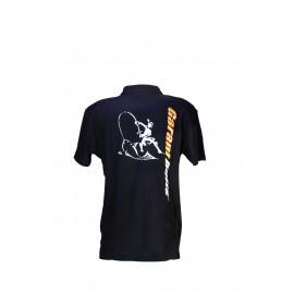 Krátke tričko Čierne