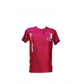 Krátke tričko Bordové